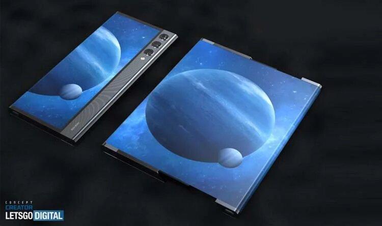 Xiaomi получила патент на смартфон с гибким дисплеем