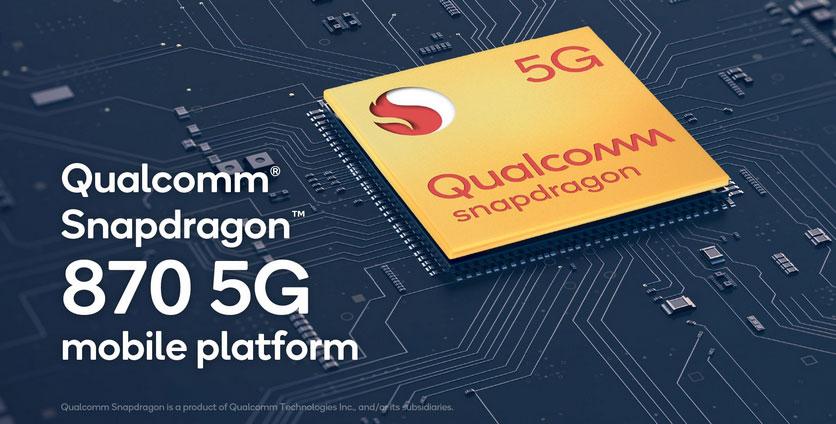 Представлен чипсет Qualcomm Snapdragon 870