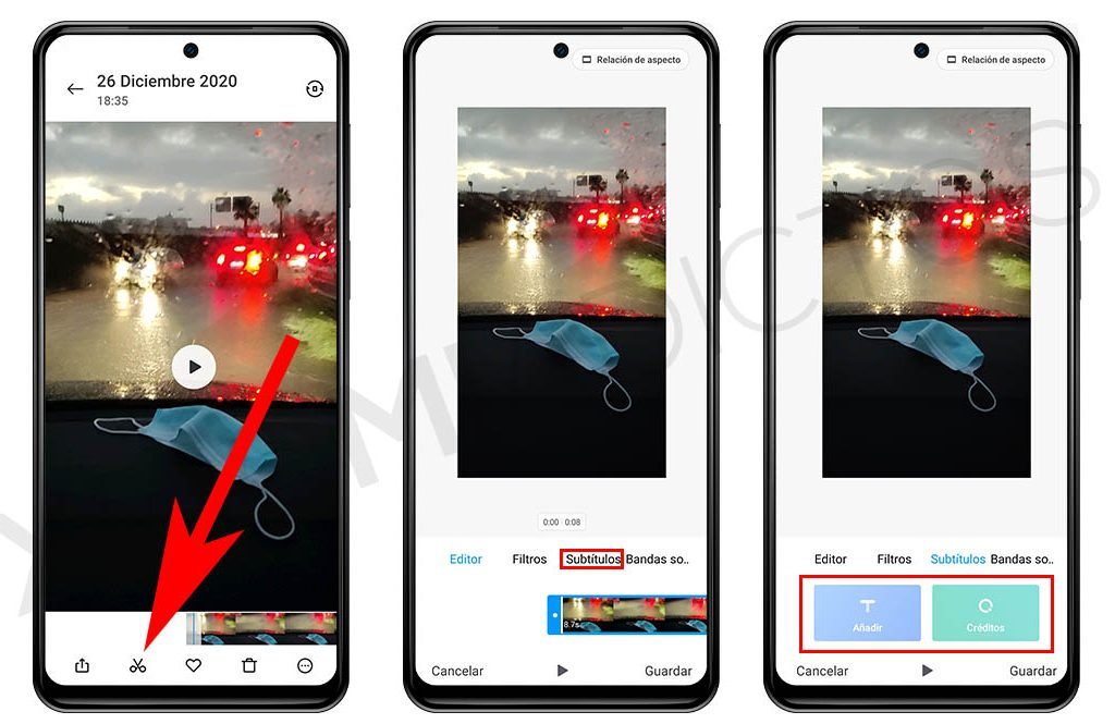 Как добавить текст или титры к своему видео на Xiaomi?