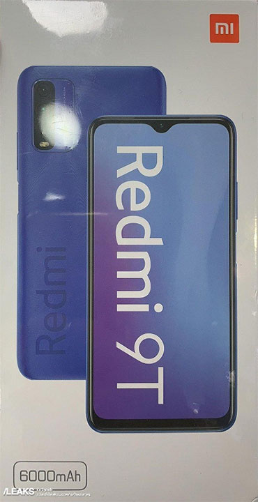 Новые подробности о смартфоне Redmi 9T от Xiaomi