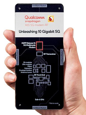 Представлен 5G-модем Qualcomm Snapdragon X65