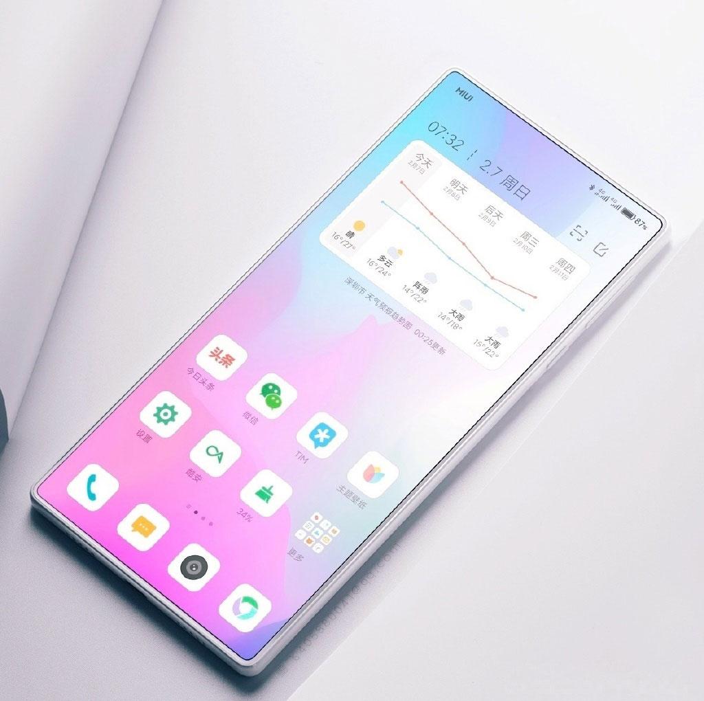 Xiaomi Mi Mix 4 показали на качественных рендерах