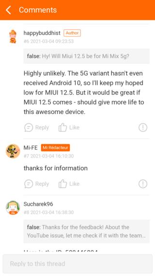 """Выпуск MIUI 12.5 для Xiaomi Mi Mix 3 5G """"маловероятен"""""""